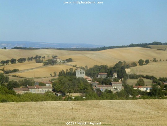 The rolling Lauragais Hills