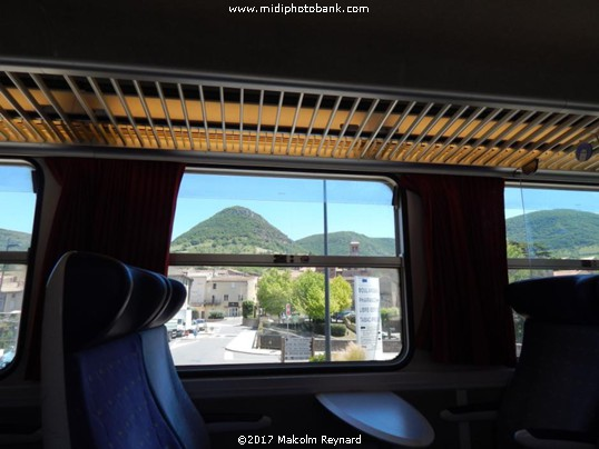 Béziers to Millau by Train