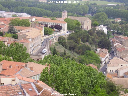 The Rooftops of Béziers