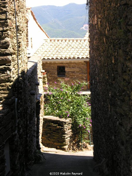 "The tiny Village of ""Combes"", in the mountains of the ""Haut Languedoc Regional Park"""